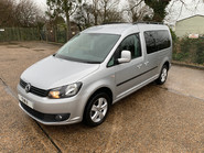Volkswagen Caddy Maxi 2014 C20 LIFE TDI Wheelchair & scooter accessible vehicle 3