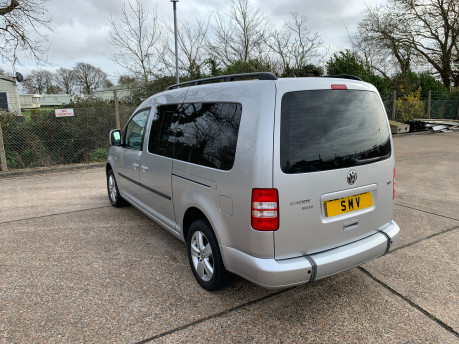 Volkswagen Caddy Maxi 2014 C20 LIFE TDI Wheelchair & scooter accessible vehicle 21