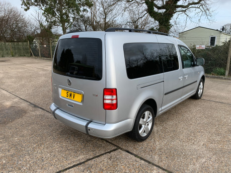 Volkswagen Caddy Maxi 2014 C20 LIFE TDI Wheelchair & scooter accessible vehicle 24