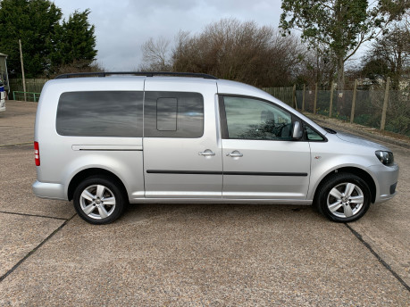 Volkswagen Caddy Maxi 2014 C20 LIFE TDI Wheelchair & scooter accessible vehicle 22