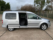 Volkswagen Caddy Maxi 2014 C20 LIFE TDI Wheelchair & scooter accessible vehicle 23