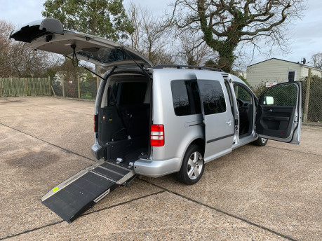 Volkswagen Caddy Maxi 2014 C20 LIFE TDI Wheelchair & scooter accessible vehicle 25