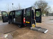 Renault Master 2015 SL28 BUSINESS DCI L/R P/V QUICKSHIFT wheelchair accessible vehicle WAV 25