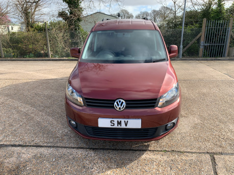 Volkswagen Caddy Maxi 2015 C20 LIFE TDI wheelchair & scooter accessible vehicle 2
