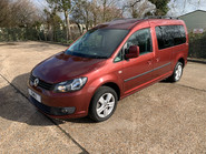 Volkswagen Caddy Maxi 2015 C20 LIFE TDI wheelchair & scooter accessible vehicle 1