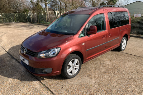 Volkswagen Caddy Maxi 2015 C20 LIFE TDI wheelchair & scooter accessible vehicle