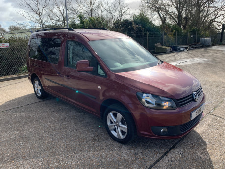 Volkswagen Caddy Maxi 2015 C20 LIFE TDI wheelchair & scooter accessible vehicle 3