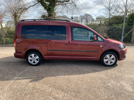 Volkswagen Caddy Maxi 2015 C20 LIFE TDI wheelchair & scooter accessible vehicle 25