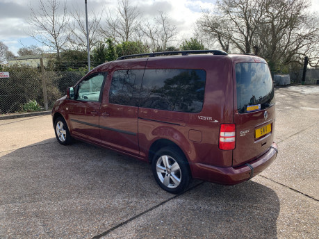 Volkswagen Caddy Maxi 2015 C20 LIFE TDI wheelchair & scooter accessible vehicle 22