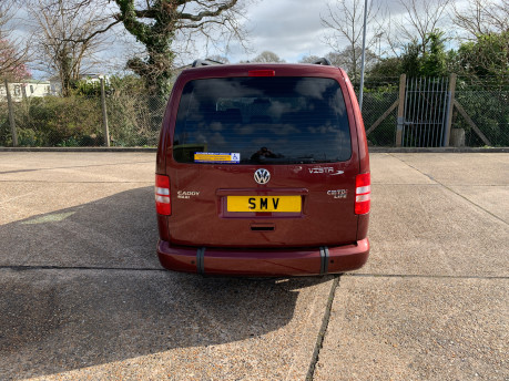 Volkswagen Caddy Maxi 2015 C20 LIFE TDI wheelchair & scooter accessible vehicle 4