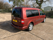 Volkswagen Caddy Maxi 2015 C20 LIFE TDI wheelchair & scooter accessible vehicle 23