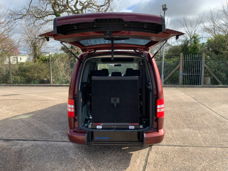 Volkswagen Caddy Maxi 2015 C20 LIFE TDI wheelchair & scooter accessible vehicle 7