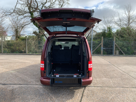 Volkswagen Caddy Maxi 2015 C20 LIFE TDI wheelchair & scooter accessible vehicle 5
