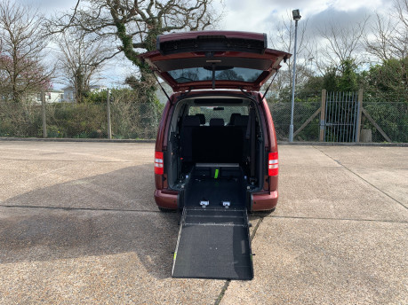Volkswagen Caddy Maxi 2015 C20 LIFE TDI wheelchair & scooter accessible vehicle 9
