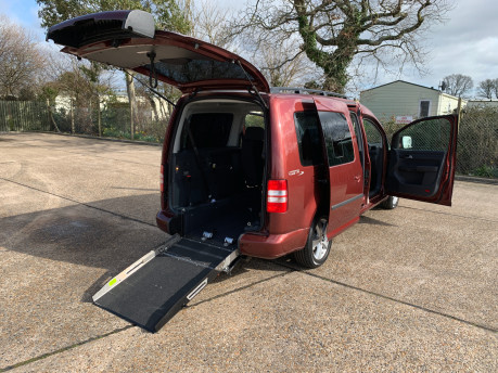 Volkswagen Caddy Maxi 2015 C20 LIFE TDI wheelchair & scooter accessible vehicle 16