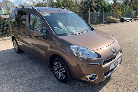 Peugeot Partner 2013 E-HDI TEPEE S wheelchair & scooter accessible vehicle WAV