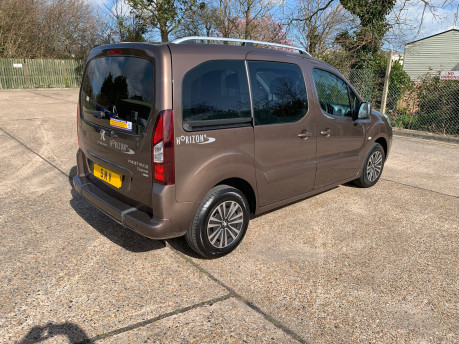 Peugeot Partner 2013 E-HDI TEPEE S wheelchair & scooter accessible vehicle WAV 11
