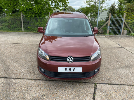 Volkswagen Caddy Maxi 2014 C20 LIFE TDI wheelchair & scooter accessible vehicle WAV 2