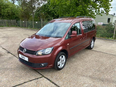 Volkswagen Caddy Maxi 2014 C20 LIFE TDI wheelchair & scooter accessible vehicle WAV 3
