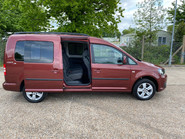 Volkswagen Caddy Maxi 2014 C20 LIFE TDI wheelchair & scooter accessible vehicle WAV 30