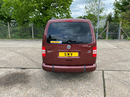 Volkswagen Caddy Maxi 2014 C20 LIFE TDI wheelchair & scooter accessible vehicle WAV 4