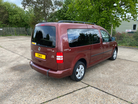 Volkswagen Caddy Maxi 2014 C20 LIFE TDI wheelchair & scooter accessible vehicle WAV 28