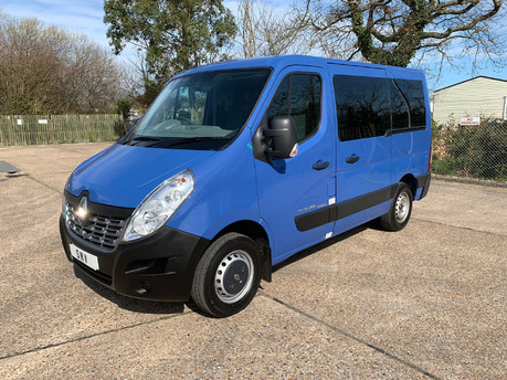 Renault Master 2017 SL28 BUSINESS DCI P/V QUICKSHIFT wheelchair accessible vehicle WAV