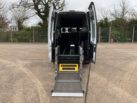 Renault Trafic 2016 LH29 BUSINESS ENERGY DCI H/R P/V wheelchair accessible vehicle WAV 9