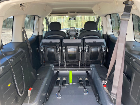 Peugeot Partner 2015 TEPEE ACTIVE wheelchair & scooter accessible vehicle WAV 9