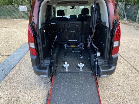 Peugeot Rifter 2019 BLUEHDI S/S ALLURE wheelchair & scooter accessible vehicle WAV 9