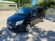 Mercedes-Benz V Class 2015 V220 BLUETEC SE wheelchair & scooter accessible vehicle WAV 3