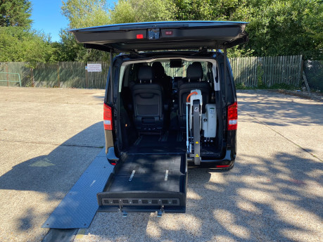 Mercedes-Benz V Class 2015 V220 BLUETEC SE wheelchair & scooter accessible vehicle WAV 7
