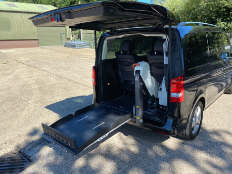 Mercedes-Benz V Class 2015 V220 BLUETEC SE wheelchair & scooter accessible vehicle WAV 8