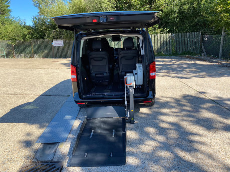 Mercedes-Benz V Class 2015 V220 BLUETEC SE wheelchair & scooter accessible vehicle WAV 10