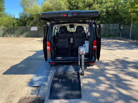 Mercedes-Benz V Class 2015 V220 BLUETEC SE wheelchair & scooter accessible vehicle WAV 30