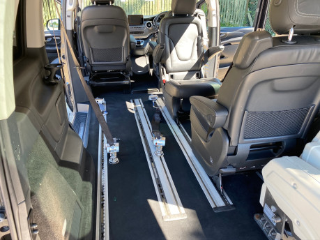 Mercedes-Benz V Class 2015 V220 BLUETEC SE wheelchair & scooter accessible vehicle WAV 34