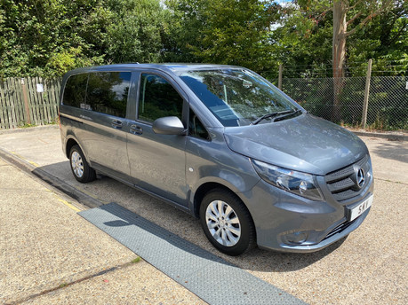 Mercedes-Benz Vito 2016 111 BLUETEC TOURER PRO wheelchair & scooter accessible vehicle WAV