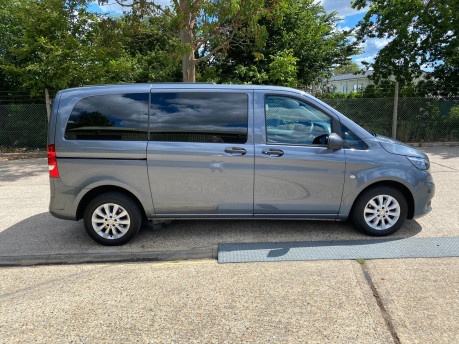 Mercedes-Benz Vito 2016 111 BLUETEC TOURER PRO wheelchair & scooter accessible vehicle WAV 25