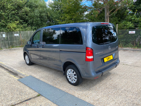 Mercedes-Benz Vito 2016 111 BLUETEC TOURER PRO wheelchair & scooter accessible vehicle WAV 24