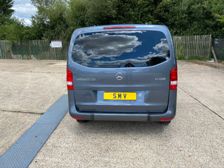 Mercedes-Benz Vito 2016 111 BLUETEC TOURER PRO wheelchair & scooter accessible vehicle WAV 6