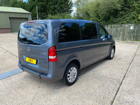 Mercedes-Benz Vito 2016 111 BLUETEC TOURER PRO wheelchair & scooter accessible vehicle WAV 26