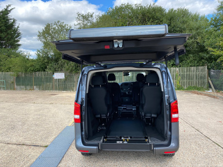 Mercedes-Benz Vito 2016 111 BLUETEC TOURER PRO wheelchair & scooter accessible vehicle WAV 7