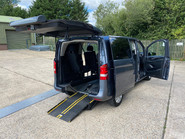 Mercedes-Benz Vito 2016 111 BLUETEC TOURER PRO wheelchair & scooter accessible vehicle WAV 21