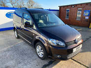 Volkswagen Caddy Life 2012 C20 LIFE TDI passenger upfront & scooter accessible vehicle 1