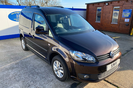 Volkswagen Caddy Life 2012 C20 LIFE TDI passenger upfront & scooter accessible vehicle