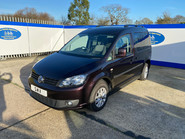 Volkswagen Caddy Life 2012 C20 LIFE TDI passenger upfront & scooter accessible vehicle 3