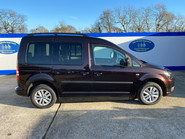 Volkswagen Caddy Life 2012 C20 LIFE TDI passenger upfront & scooter accessible vehicle 27