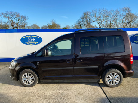 Volkswagen Caddy Life 2012 C20 LIFE TDI passenger upfront & scooter accessible vehicle 26