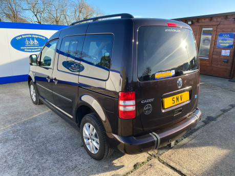 Volkswagen Caddy Life 2012 C20 LIFE TDI passenger upfront & scooter accessible vehicle 25