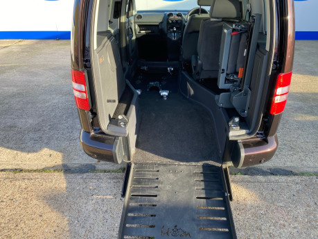 Volkswagen Caddy Life 2012 C20 LIFE TDI passenger upfront & scooter accessible vehicle 7
